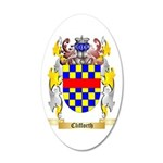 Clifforth 35x21 Oval Wall Decal