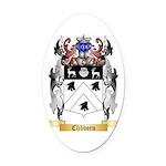 Clibborn Oval Car Magnet
