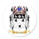 Clibborn Round Car Magnet