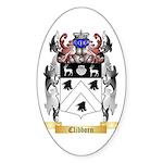 Clibborn Sticker (Oval 50 pk)