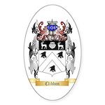 Clibbon Sticker (Oval)