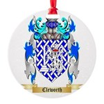 Cleworth Round Ornament