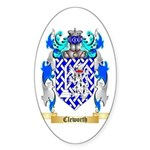 Cleworth Sticker (Oval 10 pk)