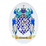 Cleworth Ornament (Oval)