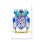 Clewley Rectangle Car Magnet