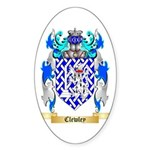 Clewley Sticker (Oval)