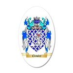 Clewley 20x12 Oval Wall Decal