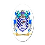 Clewley 35x21 Oval Wall Decal
