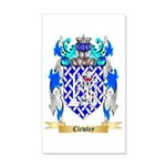 Clewley 35x21 Wall Decal