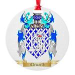 Clewarth Round Ornament