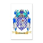Clewarth Rectangle Car Magnet