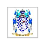 Clewarth Square Sticker 3