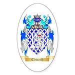 Clewarth Sticker (Oval 50 pk)