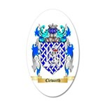 Clewarth 20x12 Oval Wall Decal