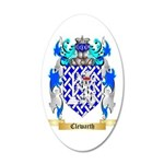 Clewarth 35x21 Oval Wall Decal