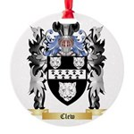 Clew Round Ornament