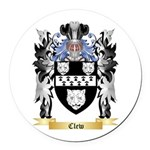 Clew Round Car Magnet