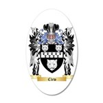 Clew 20x12 Oval Wall Decal