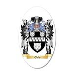 Clew 35x21 Oval Wall Decal