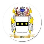 Cleve Round Car Magnet