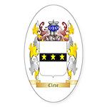 Cleve Sticker (Oval 10 pk)