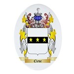 Cleve Ornament (Oval)