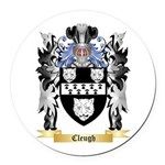 Cleugh Round Car Magnet