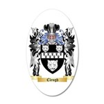 Cleugh 20x12 Oval Wall Decal