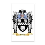 Cleugh 20x12 Wall Decal