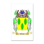 Clery Rectangle Car Magnet