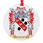 Clerk Round Ornament