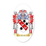 Clerk Oval Car Magnet