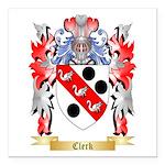 Clerk Square Car Magnet 3