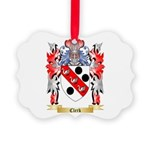 Clerk Picture Ornament