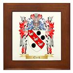 Clerk Framed Tile