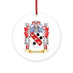 Clerk Ornament (Round)