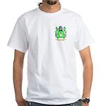 Clench White T-Shirt