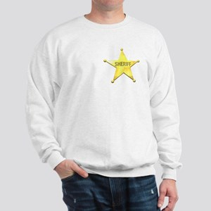 Sheriff Badge Sweatshirt