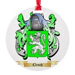 Clench Round Ornament