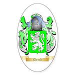 Clench Sticker (Oval 50 pk)