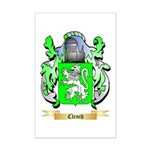 Clench Mini Poster Print