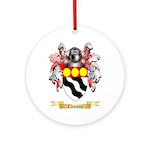 Clemson Ornament (Round)