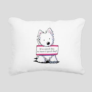 Vital Signs: ATTITUDE Rectangular Canvas Pillow