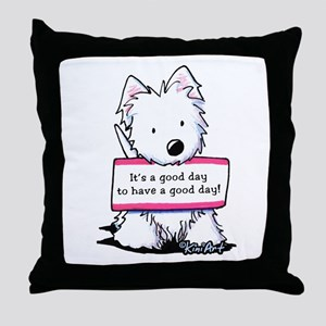 Vital Signs: ATTITUDE Throw Pillow