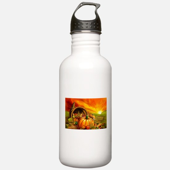 A Thanksgiving Bountiful Harvest Water Bottle