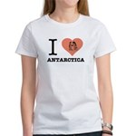 I Love Antarctica - Women's T-Shirt