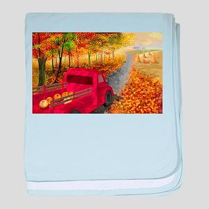 Colors of the season baby blanket