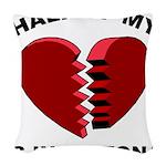 Heart In Arizona Woven Throw Pillow