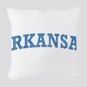 Arkansas Woven Throw Pillow