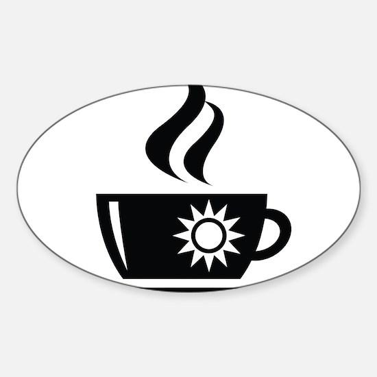 Morning Coffee Decal